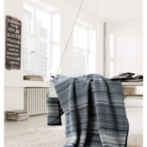 MULTI STRIPE DENIM BLANKET