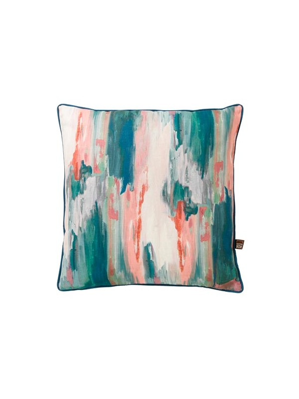 BRINDLE TEAL BLUSH 45X45CM