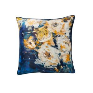 GIGI NAVY/YELLOW 45X45CM